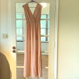 Dainty Hooligan Light Pink Dress